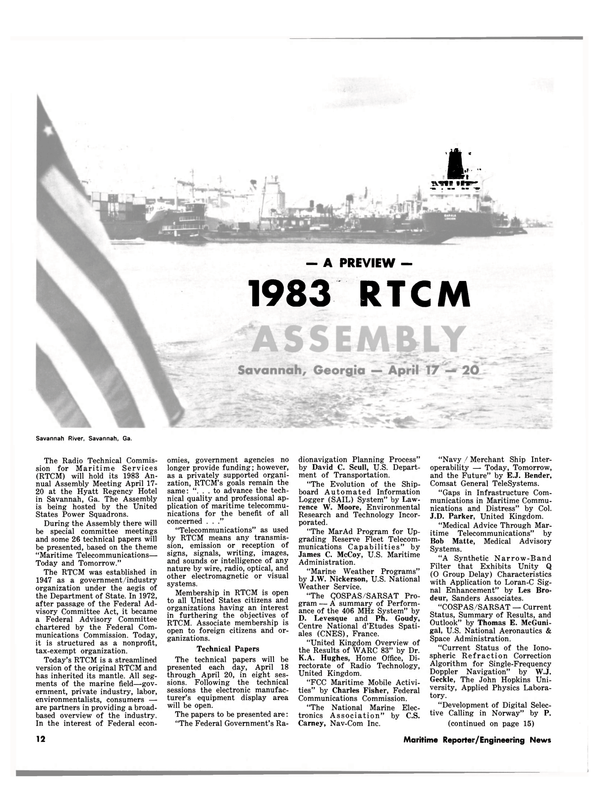Maritime Reporter Magazine, page 10,  Mar 15, 1983 Charles Fisher