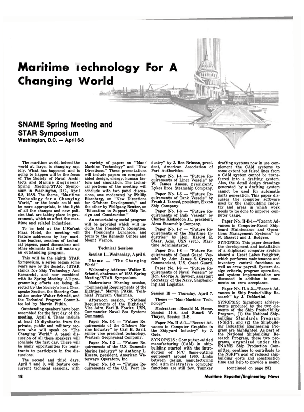 Maritime Reporter Magazine, page 18,  Mar 15, 1983