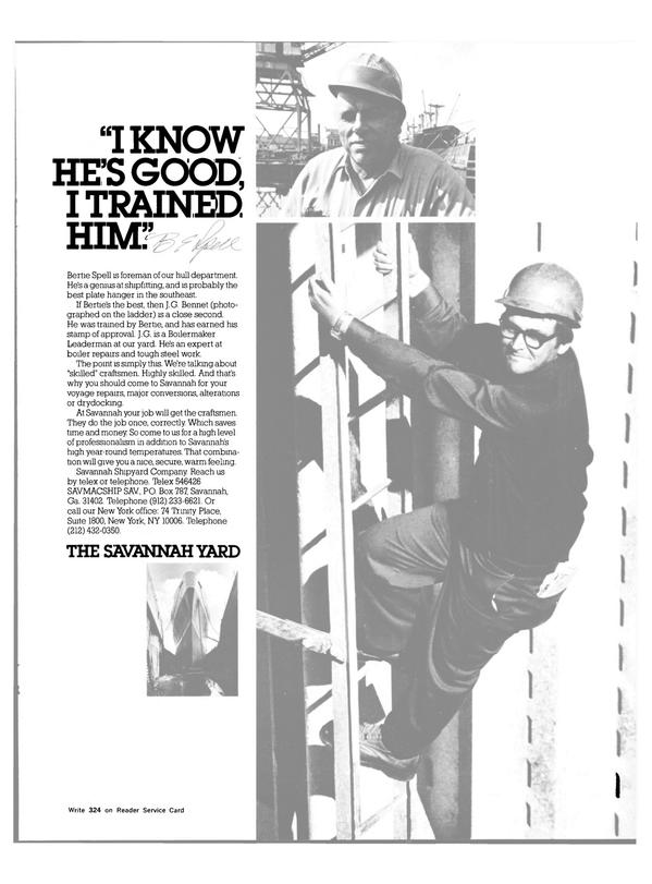 Maritime Reporter Magazine, page 37,  Mar 15, 1983