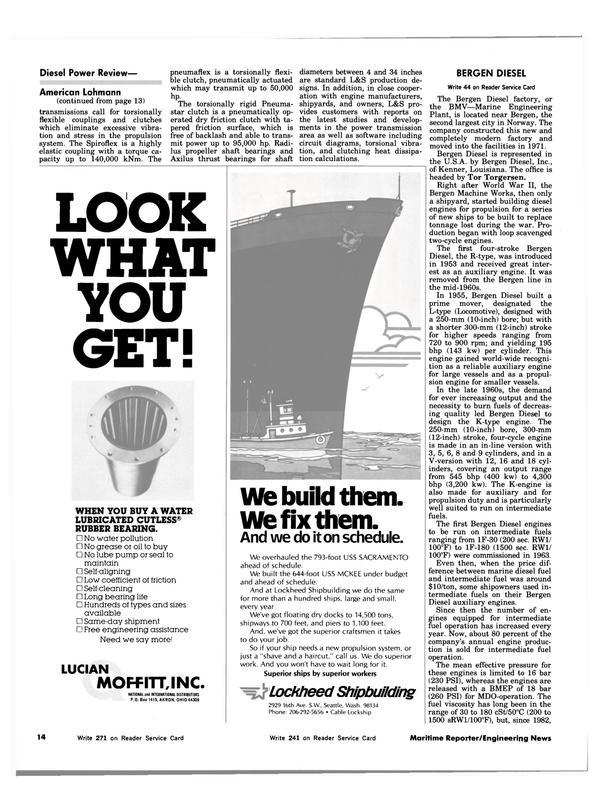 Maritime Reporter Magazine, page 10,  Jul 15, 1983