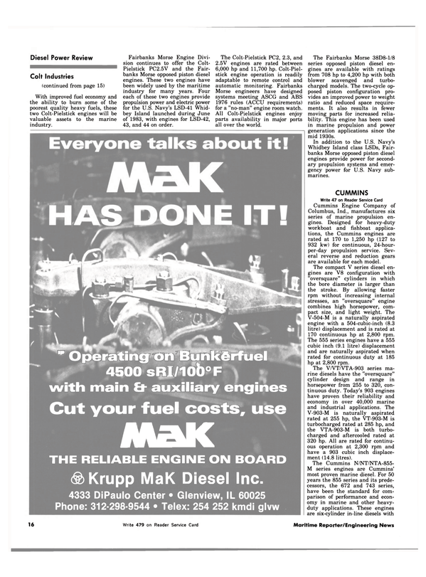 Maritime Reporter Magazine, page 12,  Jul 15, 1983 DiPaulo Center