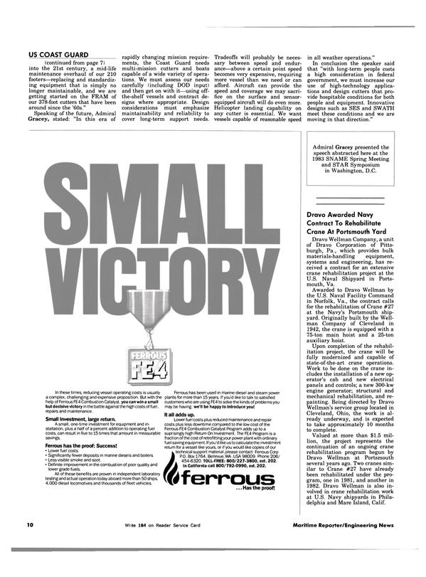 Maritime Reporter Magazine, page 6,  Jul 15, 1983 Ohio