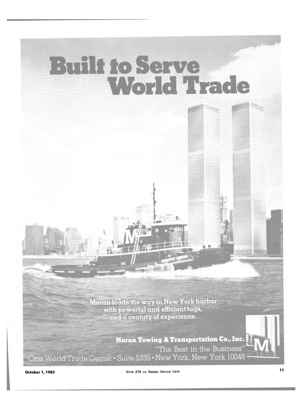 Maritime Reporter Magazine, page 9,  Oct 1983 World Trade Center