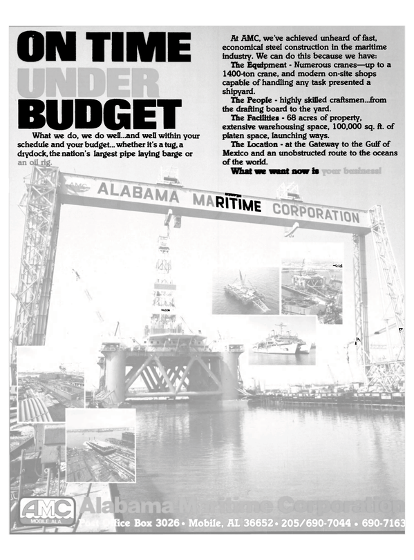 Maritime Reporter Magazine, page 33,  Oct 1983