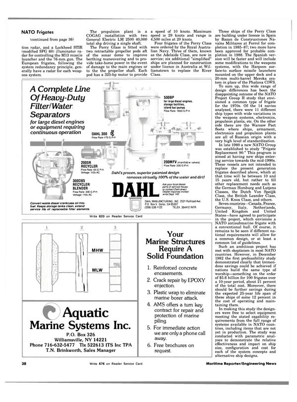 Maritime Reporter Magazine, page 40,  Oct 15, 1983 Canada