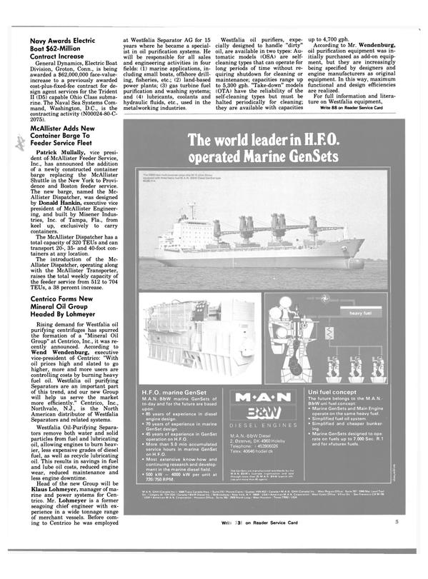 Maritime Reporter Magazine, page 5,  Oct 15, 1983 New Jersey