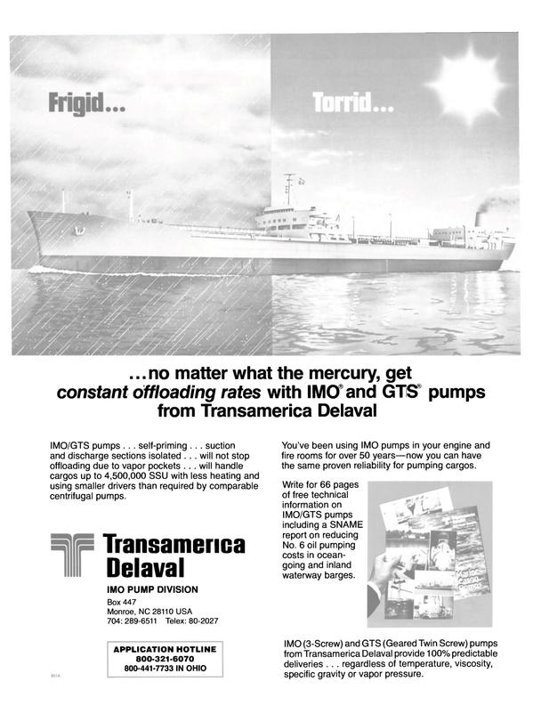 Maritime Reporter Magazine, page 37,  Nov 1983