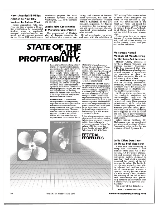 Maritime Reporter Magazine, page 8,  Dec 15, 1983