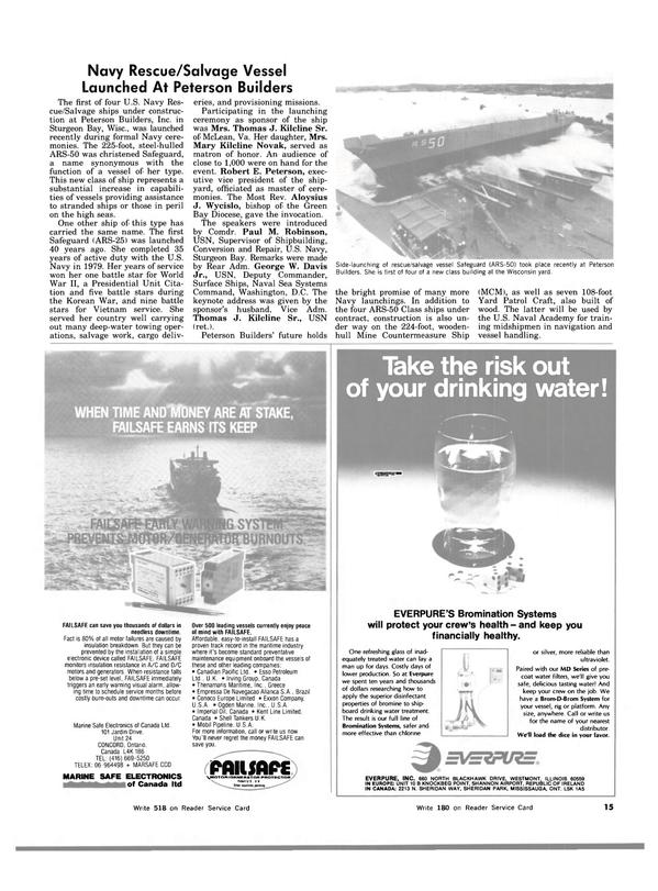 Maritime Reporter Magazine, page 13,  Dec 15, 1983
