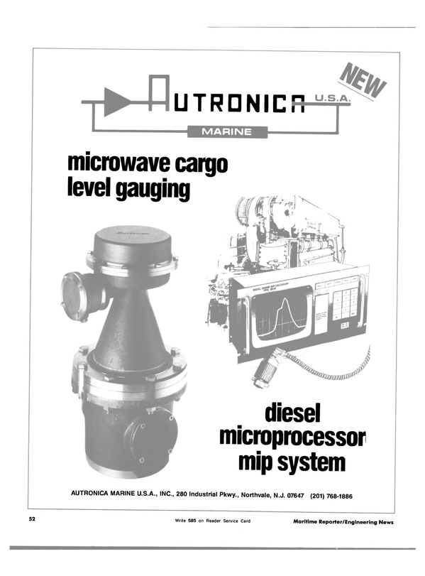 Maritime Reporter Magazine, page 50,  Dec 15, 1983