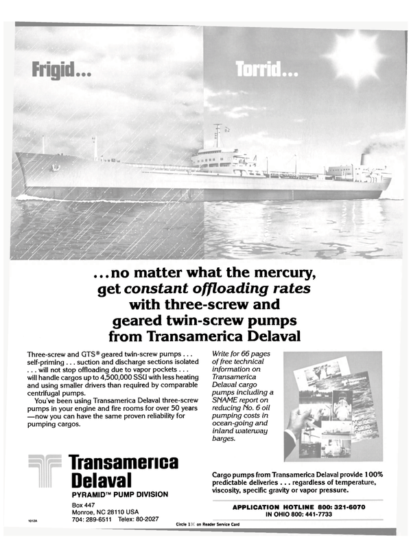 Maritime Reporter Magazine, page 24,  Apr 1984 GTS