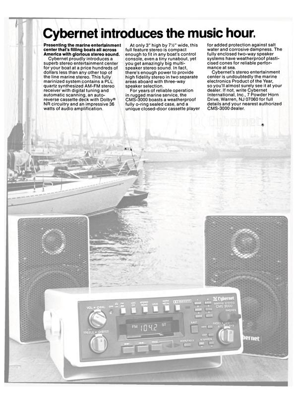 Maritime Reporter Magazine, page 33,  Apr 1984 marine electronics