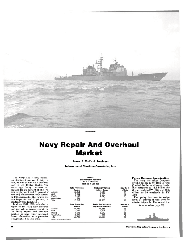 Maritime Reporter Magazine, page 34,  Apr 1984