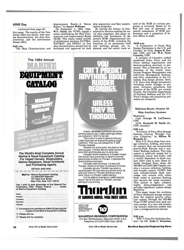 Maritime Reporter Magazine, page 46,  Apr 1984