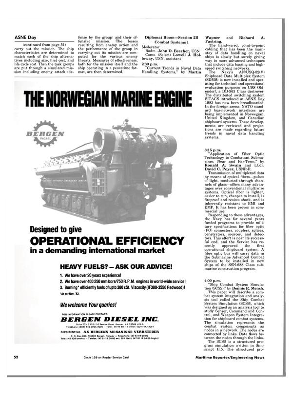 Maritime Reporter Magazine, page 48,  Apr 1984