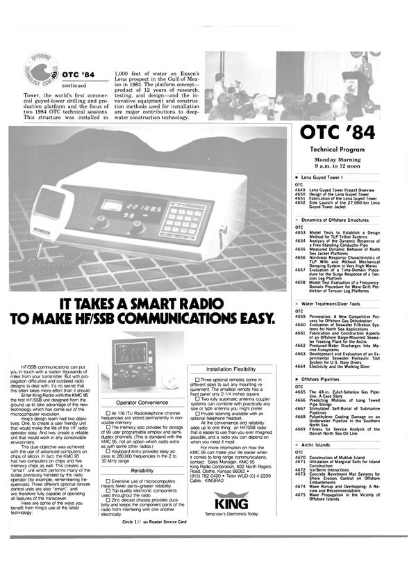 Maritime Reporter Magazine, page 72,  Apr 1984 Kansas