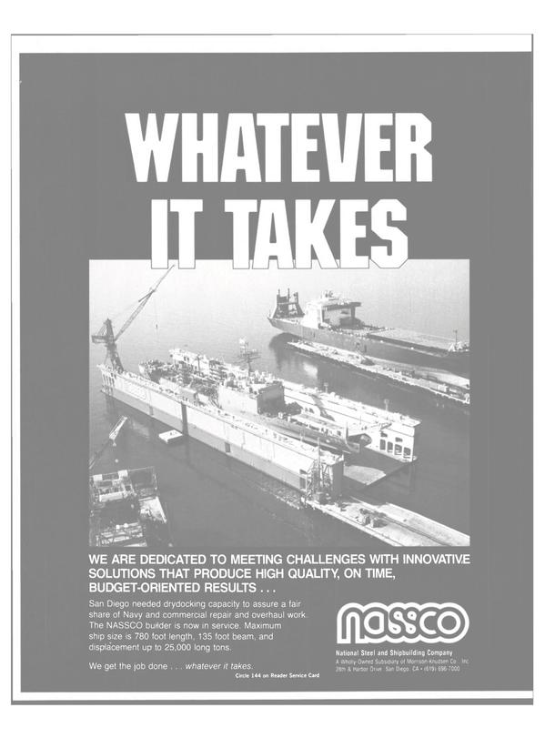 Maritime Reporter Magazine, page 81,  Apr 1984 Shipbuilding Company