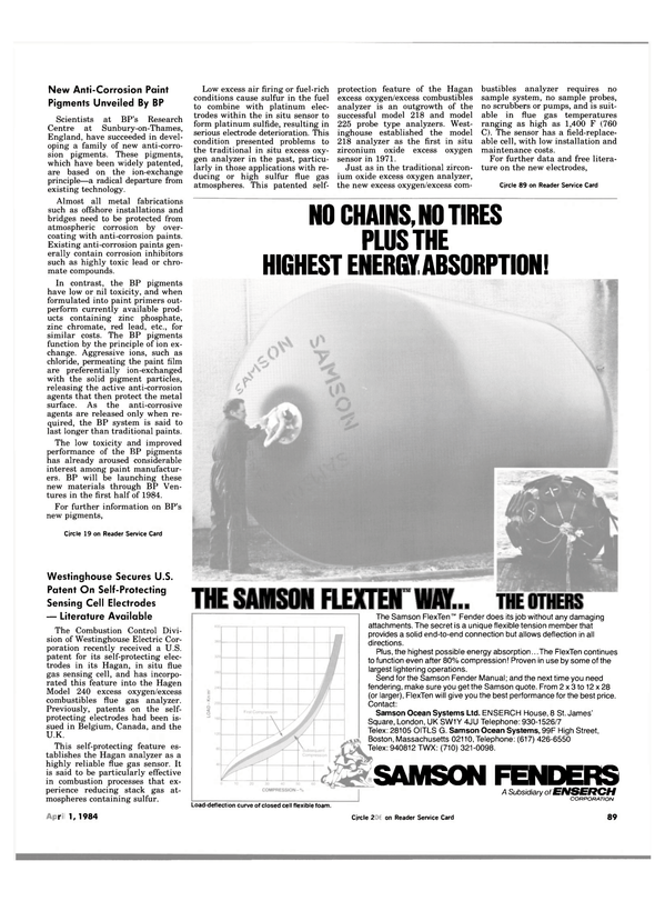 Maritime Reporter Magazine, page 87,  Apr 1984 metal fabrications