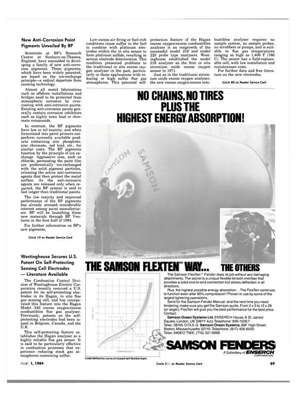 Maritime Reporter Magazine, page 87,  Apr 1984