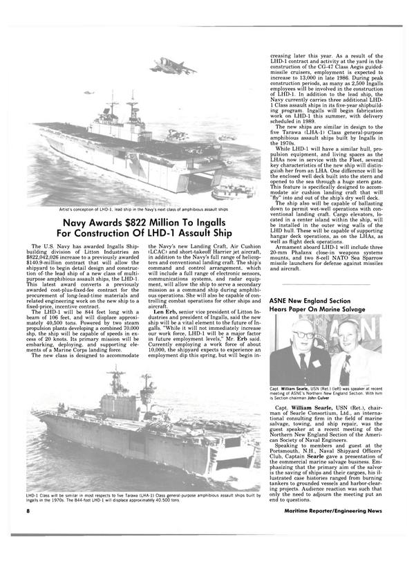 Maritime Reporter Magazine, page 6,  Apr 15, 1984