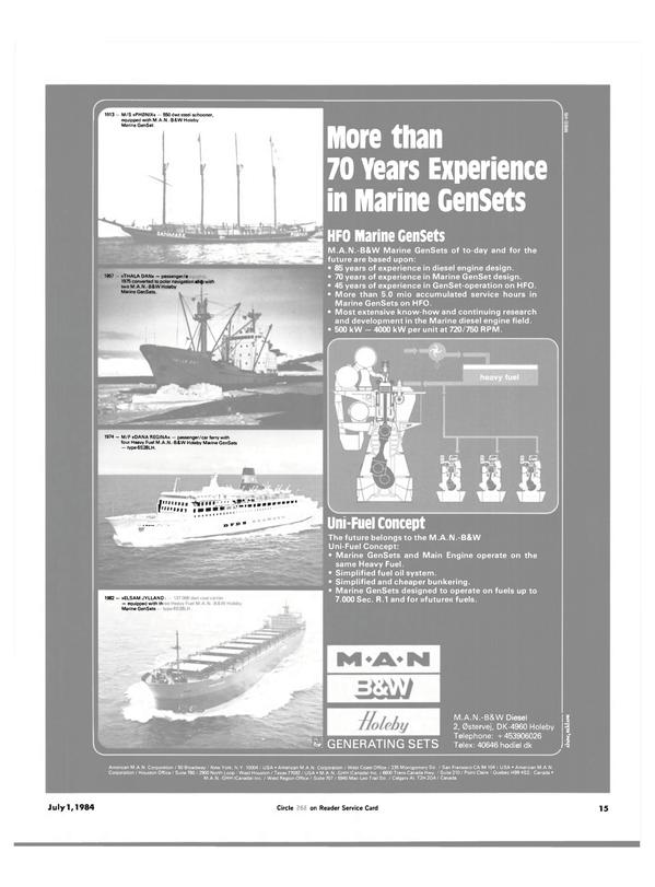 Maritime Reporter Magazine, page 13,  Jul 1984