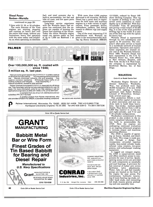 Maritime Reporter Magazine, page 38,  Jul 1984