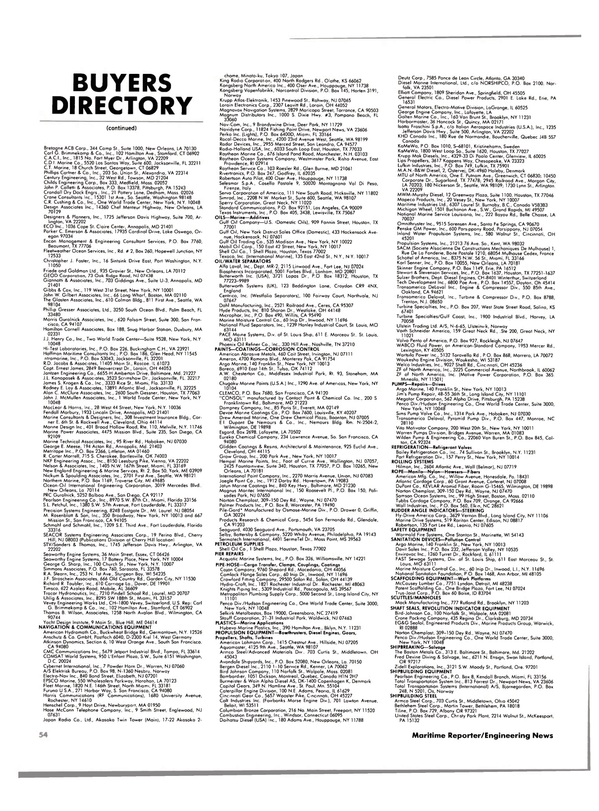 Maritime Reporter Magazine, page 50,  Jul 1984