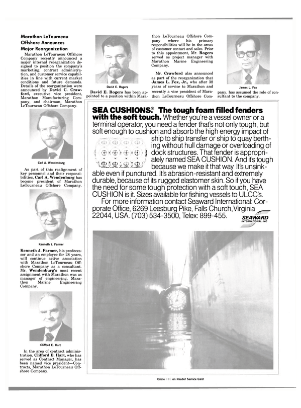 Maritime Reporter Magazine, page 7,  Jul 1984 Crawford