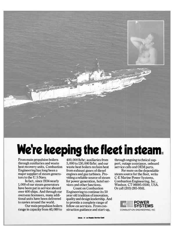 Maritime Reporter Magazine, page 57,  Oct 1984