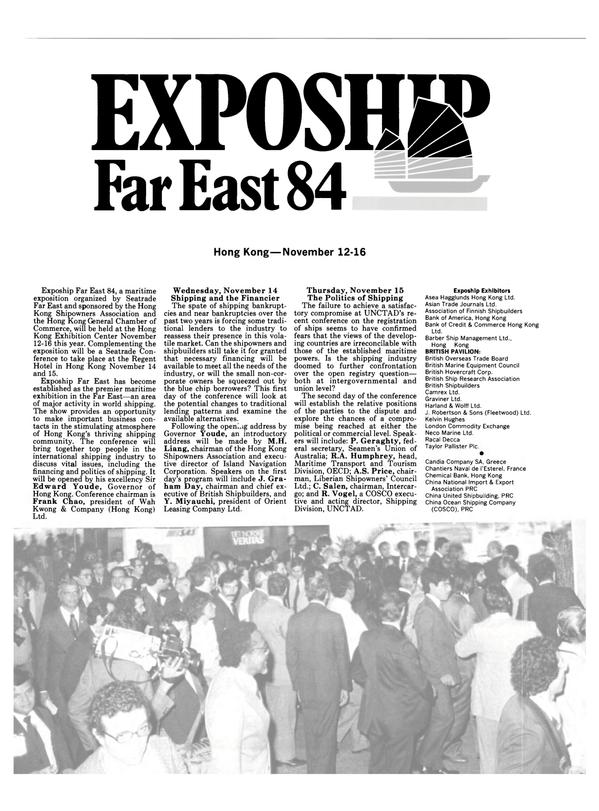 Maritime Reporter Magazine, page 30,  Oct 15, 1984 Y. Miyauchi