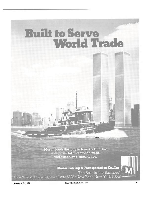 Maritime Reporter Magazine, page 11,  Nov 1984