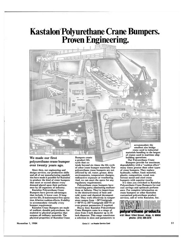 Maritime Reporter Magazine, page 47,  Nov 1984