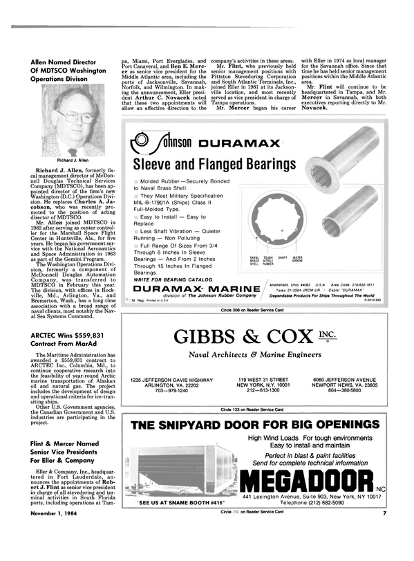 Maritime Reporter Magazine, page 5,  Nov 1984