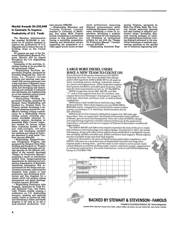 Maritime Reporter Magazine, page 6,  Nov 1984