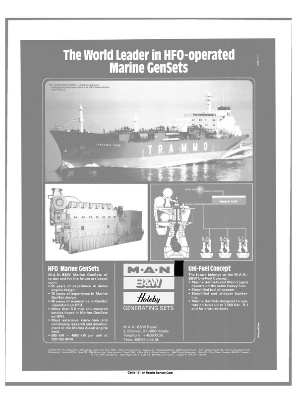 Maritime Reporter Magazine, page 7,  Dec 1984 American M.A.N. Corporation West Coast Office