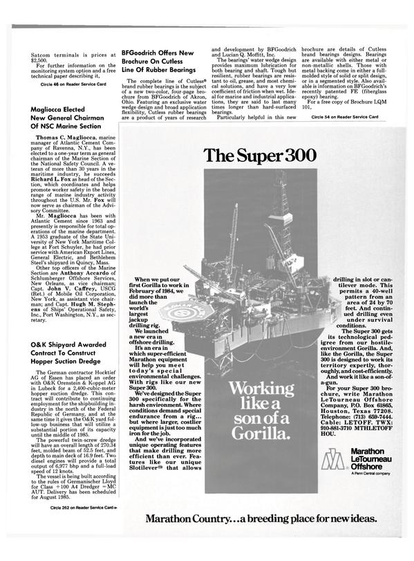 Maritime Reporter Magazine, page 7,  Dec 15, 1984