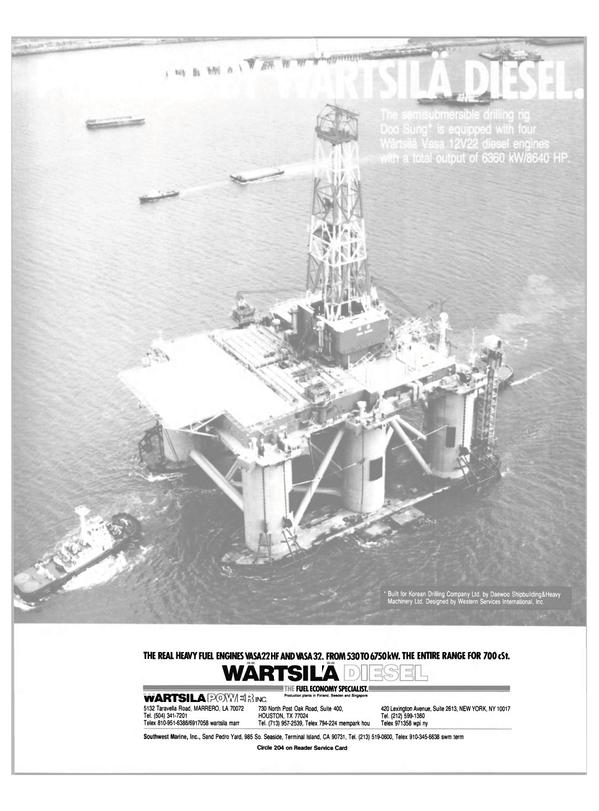 Maritime Reporter Magazine, page 7,  Jan 15, 1985