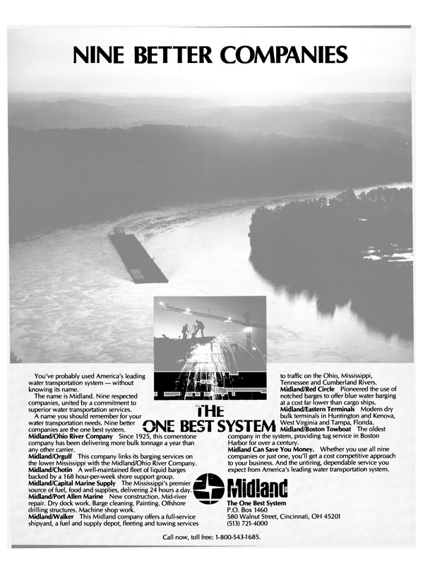 Maritime Reporter Magazine, page 7,  Feb 15, 1985