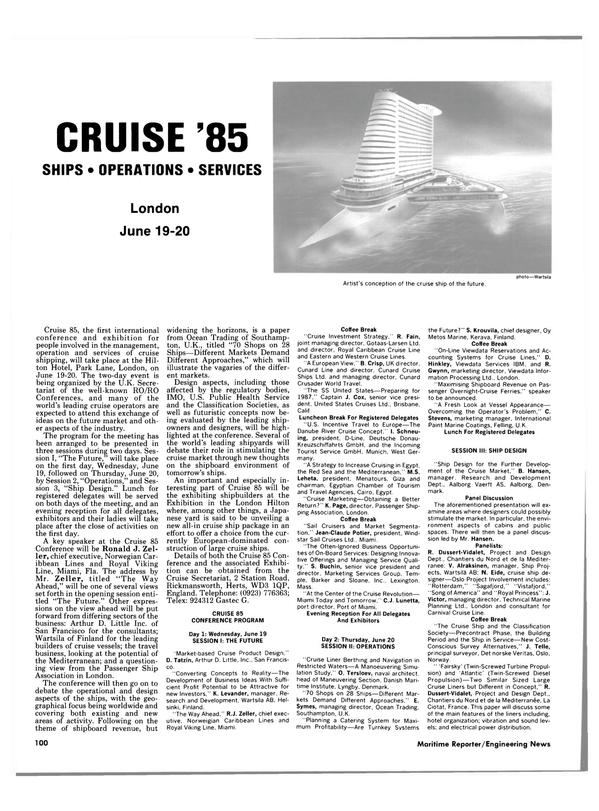 Maritime Reporter Magazine, page 102,  Jun 1985 Florida