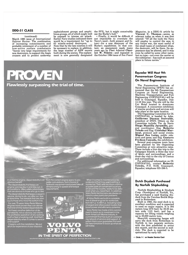 Maritime Reporter Magazine, page 90,  Jun 1985 New Jersey