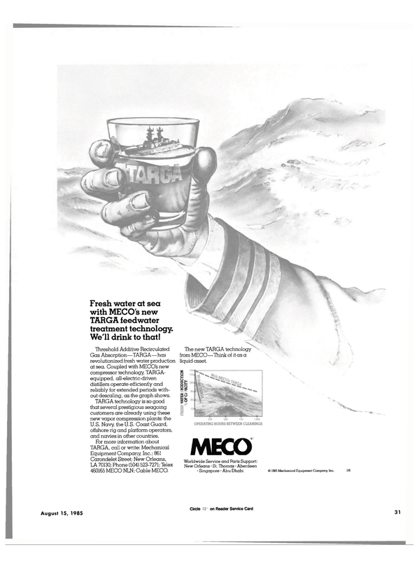 Maritime Reporter Magazine, page 29,  Aug 15, 1985 U.S. Coast Guard