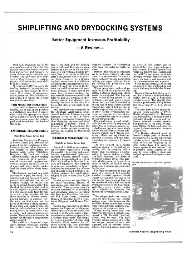 Maritime Reporter Magazine, page 14,  Sep 1985 Batangas