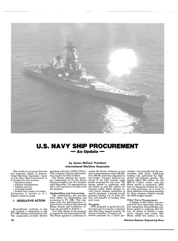 Maritime Reporter Magazine, page 30,  Sep 1985
