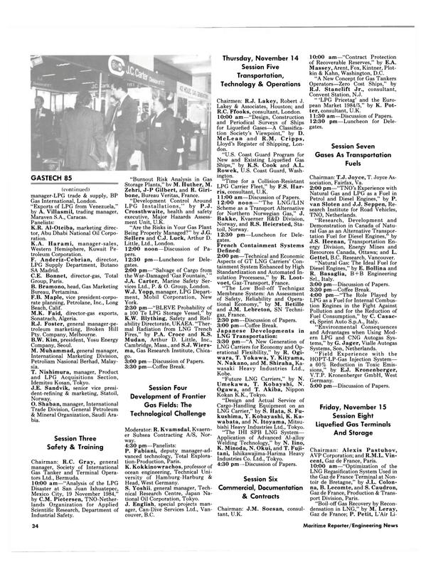 Maritime Reporter Magazine, page 32,  Oct 15, 1985 New Jersey