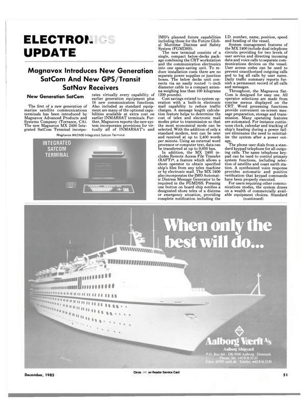 Maritime Reporter Magazine, page 51,  Dec 1985 external word processor