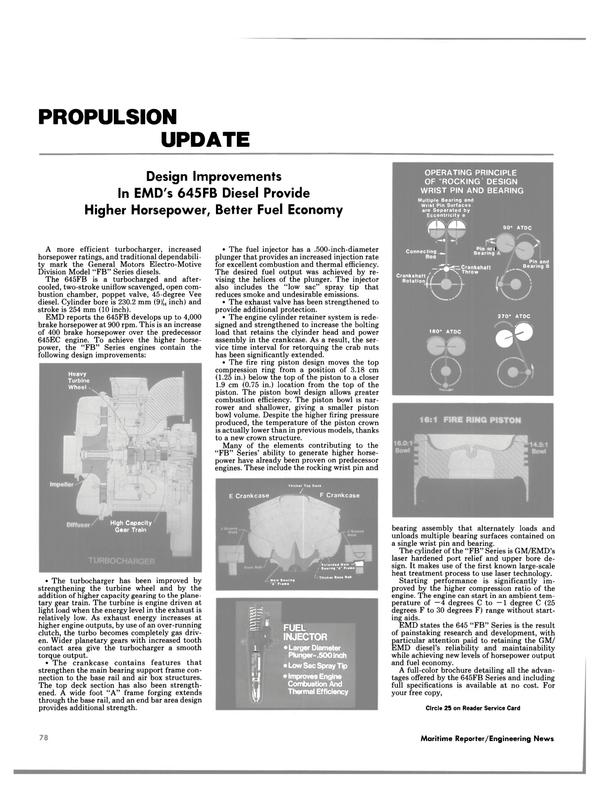 Maritime Reporter Magazine, page 78,  Dec 1985 laser technology