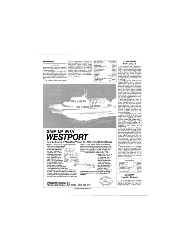 Maritime Reporter Magazine, page 20,  Jan 1986