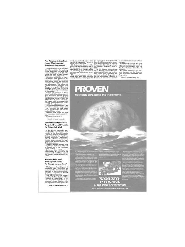 Maritime Reporter Magazine, page 45,  Jan 1986 Pennsylvania