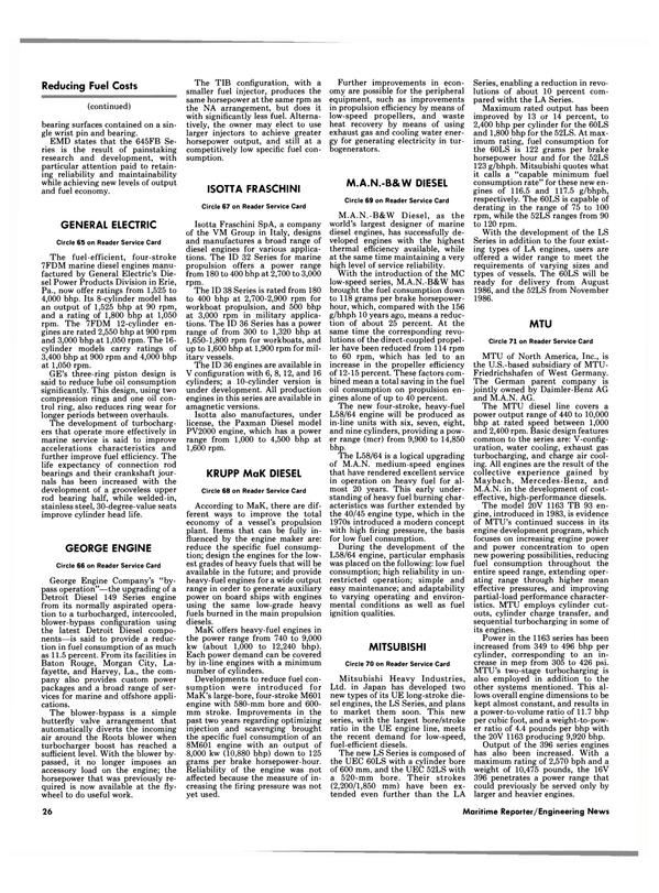 Maritime Reporter Magazine, page 24,  Jan 15, 1986