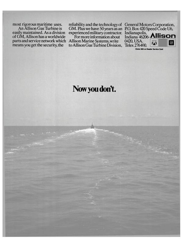 Maritime Reporter Magazine, page 31,  Feb 1986